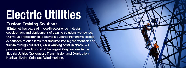 3DInternet | Electrical Utilities - Specialized in custom 3D
